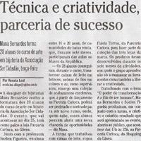download: O globo – Caderno Zona sul (janeiro de 2007)